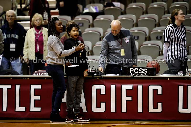 20190119 Womens Basketball Seattle Pacific University Falcons versus Simon Fraser University Clan Snapshots