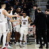 20190309 Mens Basketball Seattle Pacific University Falcons versus Western Oregon University Wolves GNAC Tournament Championship Snapshots