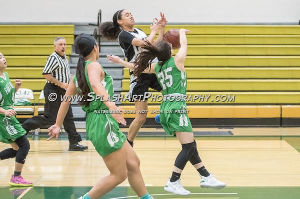 2020 Eagle Rock Girls Basketball vs Ribet Fighting Frogs