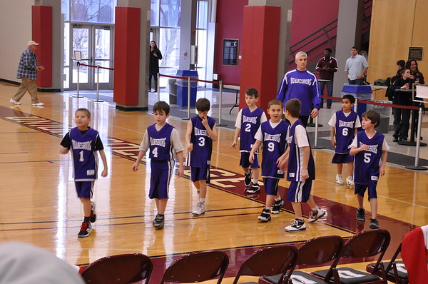 YMCA/Duanesburg Youth Basketball 2011-2012