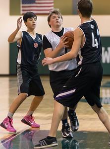Wizards vs Lightning Basketball (01 Feb 2015)