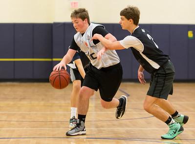 Wizards vs Spartans Basketball (18 Jan 2015)
