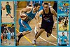 """Congratulations Adam Gibson - 300 NBL Games! 4 January 2015. Collage / Montage by Des Thureson - <a href=""""http://disci.smugmug.com"""">http://disci.smugmug.com</a>"""