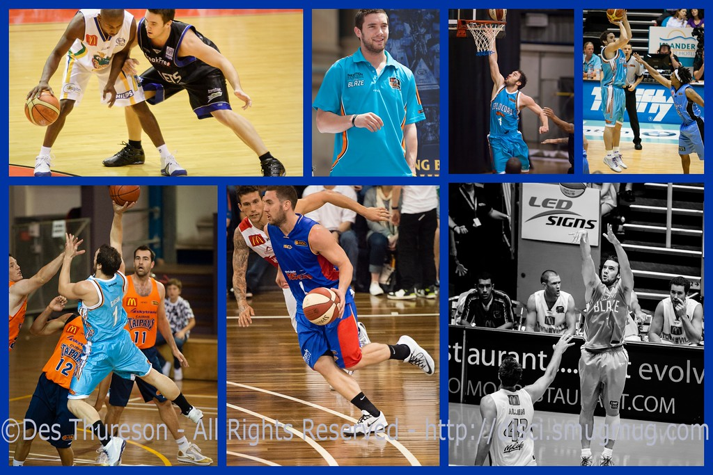 "Congratulations Adam Gibson - 300 NBL Games! 4 January 2015. Collage / Montage by Des Thureson - <a href=""http://disci.smugmug.com"">http://disci.smugmug.com</a>"