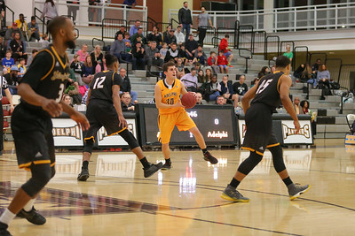 Adelphi Mens Basketball vs American International College | Copyright: Chris Bergmann Photography