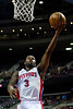 Feb 25, 2013; Auburn Hills, MI, USA; Detroit Pistons point guard Rodney Stuckey (3) during the fourth quarter against the Atlanta Hawks at The Palace. Atlanta won 114-103. Mandatory Credit: Tim Fuller-USA TODAY Sports
