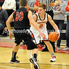 High School Basketball<br /> Circleville 75, Liberty Union 49<br /> December 23, 2014<br /> Cal Cooper (Circleville), Brandon Compton (Liberty Union)