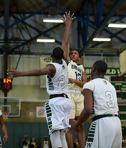 Baldwin vs Westbury Nassau AA Boys Basketball Semifinals. Photos by Chris Bergmann