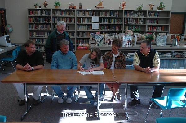 Ellen Signing Letter of Intent
