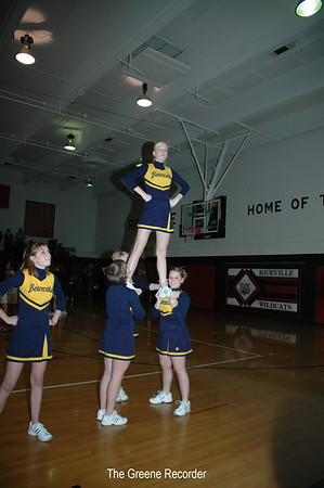 Girls Bball at Riceville
