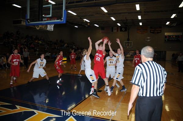 Boys Basketball vs Forest City