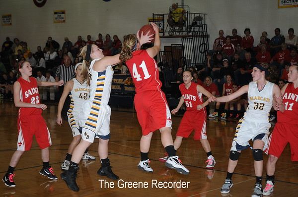 Regional Basketball vs St. Ansgar