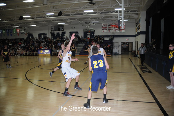 Boys Distric Basketball vs NEH