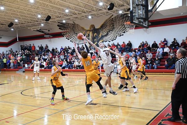 Boys Basketball at West Fork