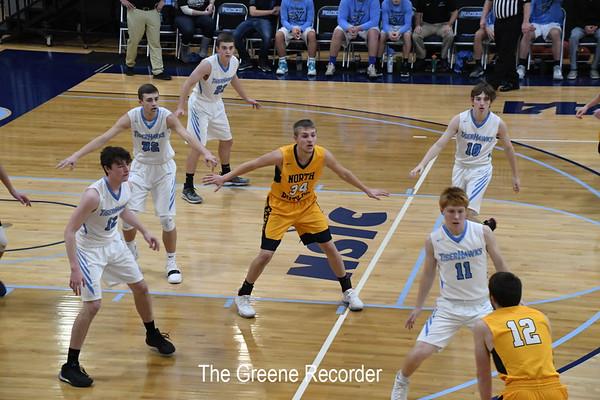 Boys Basketball vs North Fayette Valley