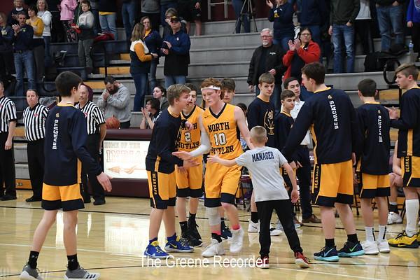 Boys District Bball vs Clarksville