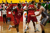 Anthony Petrie switches on defence - Gold Coast Blaze v St Mary's - Australian National Basketball League (NBL) pre-season game, 17 August, 2009.