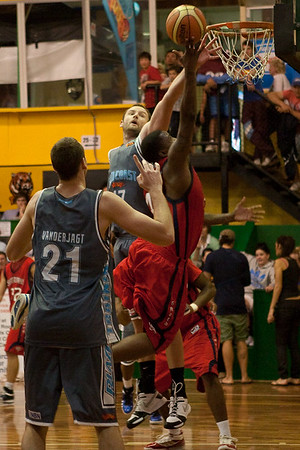 NBL Pre Season Basketball: Gold Coast Blaze v St Mary's College. Photographed by Des Thureson:  http://disci.smugmug.com