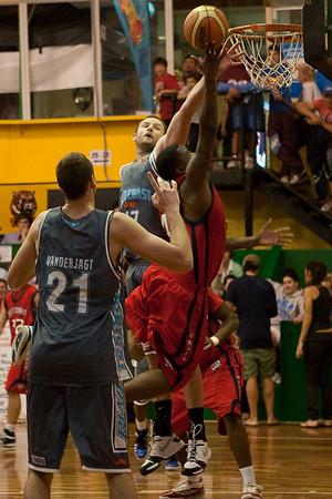 NBL Pre Season Basketball: Gold Coast Blaze v St Mary's College. Photographed by Des Thureson:  http://disci.smugmug.com