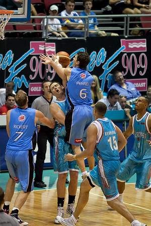NBL Basketball: Gold Coast Blaze v New Zealand Breakers