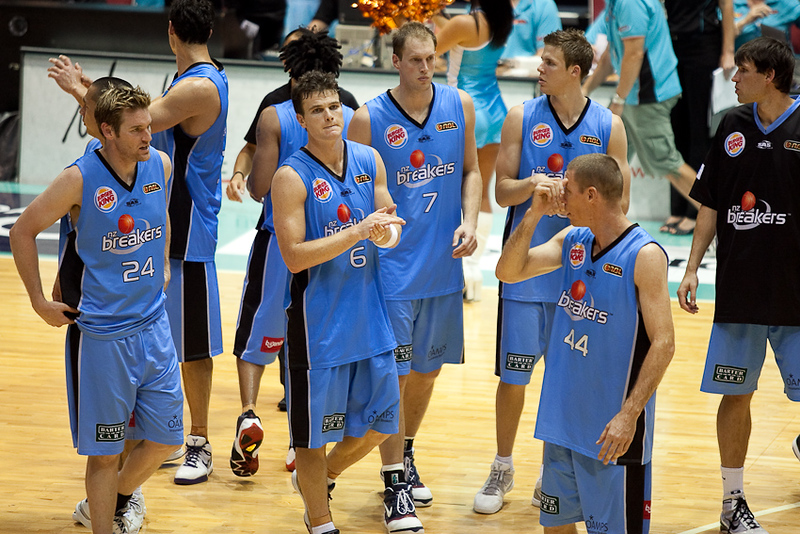 Defeated but definitely not losers - the impressive New Zealand Breakers - Blaze v Breakers 31-12-2009