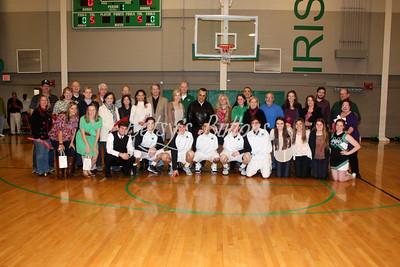 Basketball/Cheer Senior Night 2013
