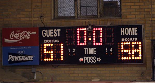 Berry Girls final score board