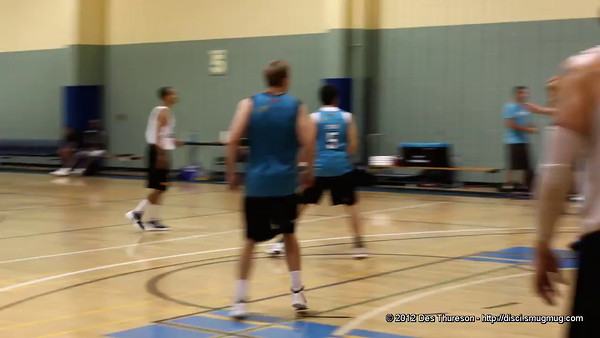 Video (720p) - 5 on 5 scrimmage - Gold Coast Blaze Basketball Open Training Session, hosted by Northside Wizards, Boondall, Brisbane; 18 February 2012.