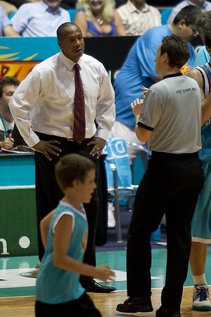 NBL Basketball: Gold Coast Blaze v Adelaide 36ers. Photos by Des Thureson:  http://disci.smugmug.com