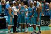 Blaze coach Joey Wright issues instructions to Adam Gibson, Chris Goulding, Ayinde Ubaka & Erron Maxey - Blaze v 36ers 9-12-9