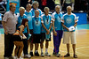 Basketball Veterans with their medals - Blaze v 36ers 9-12-9