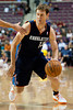 Oct 20, 2012; Auburn Hills, MI, USA; Charlotte Bobcats shooting guard Matt Carroll (13) drives to the basket against the Detroit Pistons during the game at The Palace. Mandatory Credit: Tim Fuller-US PRESSWIRE