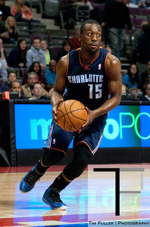 Oct 20, 2012; Auburn Hills, MI, USA; Charlotte Bobcats point guard Kemba Walker (15) drives to the basket during the game against the Detroit Pistons at The Palace. Mandatory Credit: Tim Fuller-US PRESSWIRE