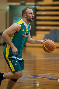 Steven Markovic - Boomers - Australian Men's Basketball Team Open Training Session, The Southport School, Queensland, Australia; 28 July 2011. Photos by Des Thureson:  http://disci.smugmug.com.