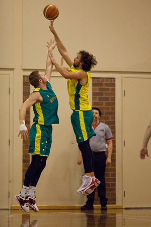 Matt Nielsen - Boomers - Australian Men's Basketball Team Open Training Session, The Southport School, Queensland, Australia; 28 July 2011. Photos by Des Thureson:  http://disci.smugmug.com.