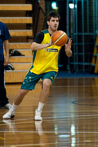 Nate Tomlinson - Boomers - Australian Men's Basketball Team Open Training Session, The Southport School, Queensland, Australia; 28 July 2011. Photos by Des Thureson:  http://disci.smugmug.com.