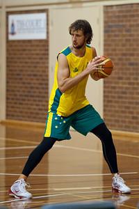 Matt Nielsen - Boomers - Australian Men's Basketball Team Open Training Session, The Southport School, Queensland, Australia; 28 July 2011. Photos by Des Thureson:  http://disci.smugmug.com.