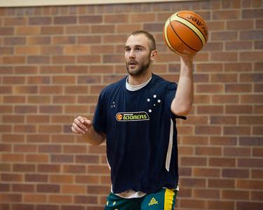 Steven Markovic - Boomers - Australian Men's Basketball Team Open Training Session, The Southport School, Queensland, Australia; 28 July 2011. Photos by Des Thureson:  http://disci.smugmug.com.