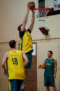 AJ Ogilvy - Boomers - Australian Men's Basketball Team Open Training Session, The Southport School, Queensland, Australia; 28 July 2011. Photos by Des Thureson:  http://disci.smugmug.com.