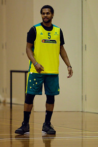 Patty Mills - Boomers - Australian Men's Basketball Team Open Training Session, The Southport School, Queensland, Australia; 28 July 2011. Photos by Des Thureson:  http://disci.smugmug.com.