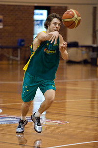 Matthew Dellavedova - Boomers - Australian Men's Basketball Team Open Training Session, The Southport School, Queensland, Australia; 28 July 2011. Photos by Des Thureson:  http://disci.smugmug.com.