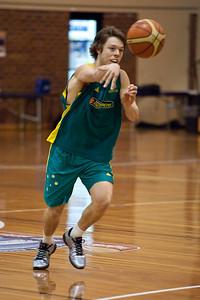 Matthew Dellavedova - Boomers - Australian Men's Basketball Team Open Training Session, The Southport School, Queensland, Australia; 28 July 2011. Photos by Des Thureson:  http://disci.smugmug.com.