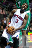Nov 18, 2012; Auburn Hills, MI, USA; Detroit Pistons point guard Rodney Stuckey (3) goes to the basket during the fourth quarter against the Boston Celtics at The Palace. Detroit won 103-83. Mandatory Credit: Tim Fuller-US PRESSWIRE
