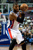 Nov 18, 2012; Auburn Hills, MI, USA; Detroit Pistons center Greg Monroe (10)during the third quarter against the Boston Celtics at The Palace. Detroit won 103-83. Mandatory Credit: Tim Fuller-US PRESSWIRE