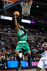 Nov 18, 2012; Auburn Hills, MI, USA; Boston Celtics shooting guard Leandro Barbosa (12) makes a lay up during the second quarter against the Detroit Pistons at The Palace. Mandatory Credit: Tim Fuller-US PRESSWIRE