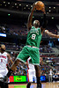 Nov 18, 2012; Auburn Hills, MI, USA; Boston Celtics power forward Jeff Green (8) during the second quarter against the Detroit Pistons at The Palace. Mandatory Credit: Tim Fuller-US PRESSWIRE