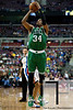 Nov 18, 2012; Auburn Hills, MI, USA; Boston Celtics small forward Paul Pierce (34) during the second quarter against the Detroit Pistons at The Palace. Mandatory Credit: Tim Fuller-US PRESSWIRE