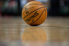 Nov 18, 2012; Auburn Hills, MI, USA; A detailed view of a basketball during the game between the Detroit Pistons and the Boston Celtics at The Palace. Detroit won 103-83. Mandatory Credit: Tim Fuller-US PRESSWIRE