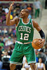 Nov 18, 2012; Auburn Hills, MI, USA; Boston Celtics shooting guard Leandro Barbosa (12) during the second quarter against the Detroit Pistons at The Palace. Mandatory Credit: Tim Fuller-US PRESSWIRE