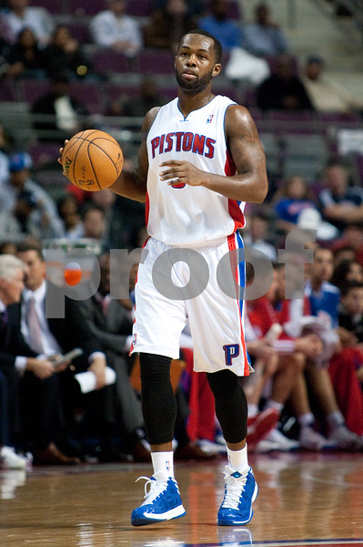 Nov 18, 2012; Auburn Hills, MI, USA; Detroit Pistons point guard Rodney Stuckey (3) during the third quarter against the Boston Celtics at The Palace. Detroit won 103-83. Mandatory Credit: Tim Fuller-US PRESSWIRE